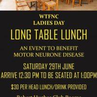Ladies Day June 29th.